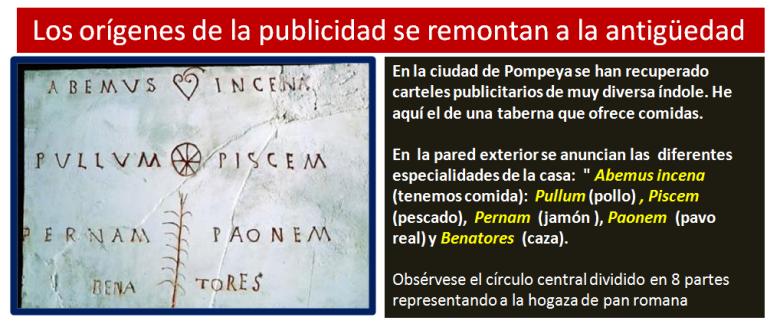anuncios en pompeya
