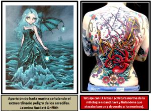 grifith y kraken tattoo